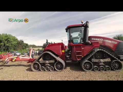 Field test of disc harrow Poettinger Terradisc 10001 T
