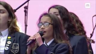 One Love Manchester parrswood high school choir singing My everything by Ariana Grande