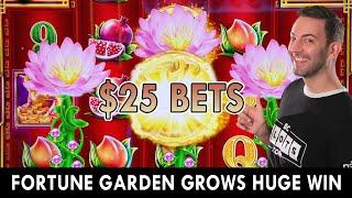 💐 $25 Spins Grows A Huge Garden Win 💐