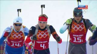 Olimpic Games 2014. Biathlon. Men Relay.