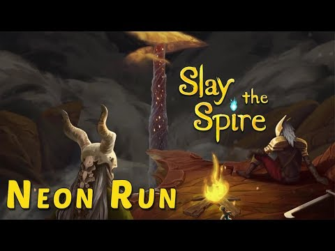 Slay the Spire EA ➤ Neon Achievement Run [CZ]