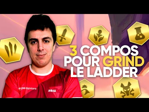 GUIDE TFT FR : 3 COMPOS POUR MONTER LE LADDER !
