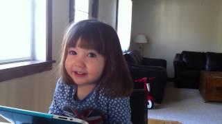 """Ruby sings along to Melanie Doane's """"Goliath"""" (CBC Kids Version)"""