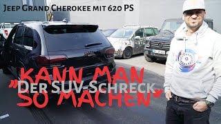 Jeep Grand Cherokee SRT8 Kompressor von GME bei JP Performance / Probefahrt mit JP Kraemer