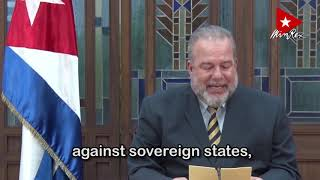 Statement by PM of Cuba to the debate of #UNGA75 on financing for development in the Covid-19 era.
