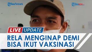 Demi Suntik Vaksin, Pasutri dari Pelosok Tala Tempuh Puluhan Kilo & Nginap di Dekat Lokasi Vaksinasi