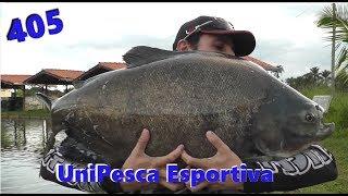 Final de tarde no Unipesca - Fishingtur na TV 405