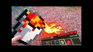 REALISTIC MINECRAFT IN REAL LIFE! - Minecraft IRL Animations / Minecraft vs Real Life Animation