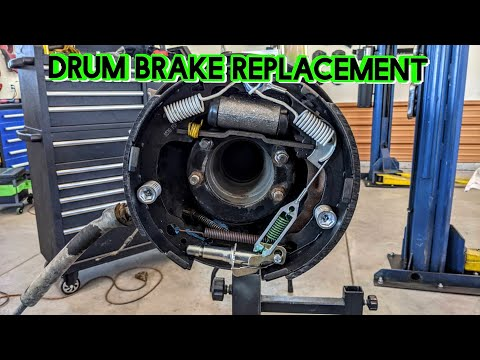 How to Replace Drum Brakes on a Jeep Wrangler