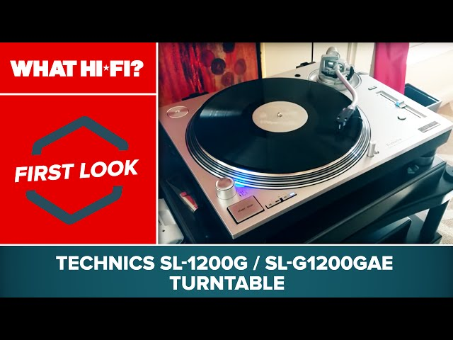 Technics SL-1200G / SL-G1200GAE turntable - first look at CES 2016