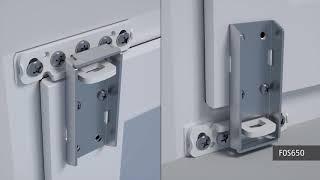 Montageanleitung - ABUS FOS650 Fenster-Stangenschloss