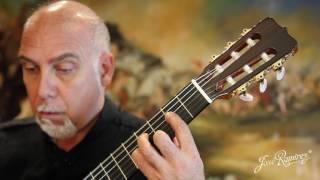 Ramirez Guitarra del Tiempo - Cedar Video