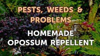 Homemade Opossum Repellent