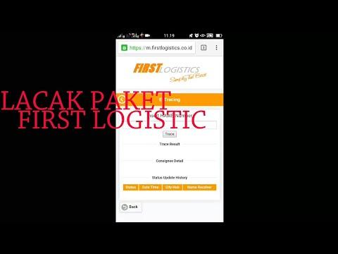 Cara Melacak Paket First Logistic Menggunakan HP Android