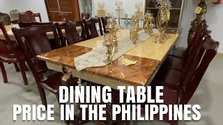 DINING TABLE PRICE IN THE PHILIPPINES | IMPERIAL APPLIANCE PLAZA - MAY 28,2020