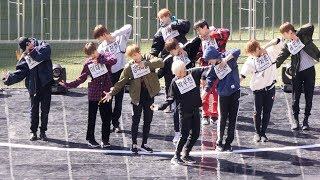 181020 워너원(Wanna One) 활활 (Brun It Up) 사복리허설(Rehearsal) [4K] 직캠 Fancam …