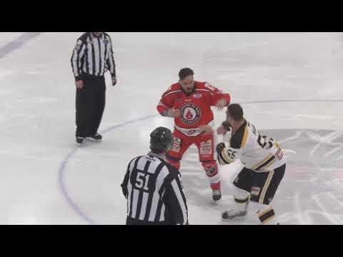 Gabriel Mailhot vs. Dave Hamel