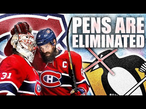 THE HABS ELIMINATE THE PITTSBURGH PENGUINS OMG MONTREAL CANADIENS ARE GOING TO THE PLAYOFFS (NHL)