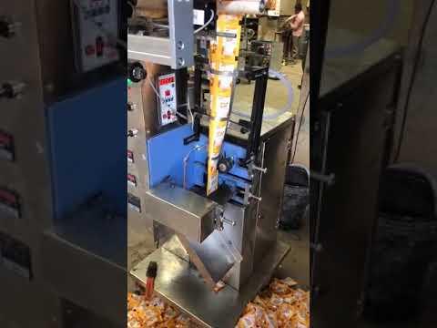 Hair Oil Pouch Packing Machine