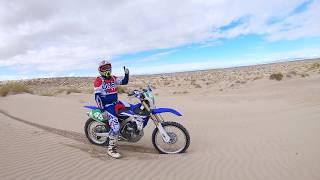 Desert Dirt Biking x FPV Drone