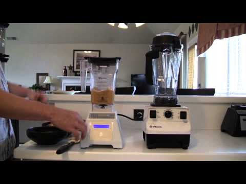 Blender Review- VITAMIX vs BLENDTEC (Peanut Butter Attempt)