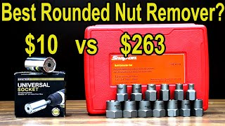 Best rounded nut and stud remover? Let\'s find out! Snap-on, Irwin, Gearwrench, Rocketsocket & more