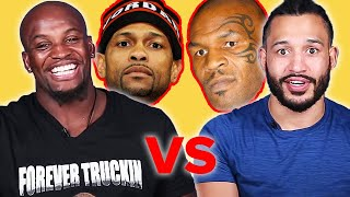 Pro Boxers React To The Mike Tyson and Roy Jones Jr Fight thumbnail