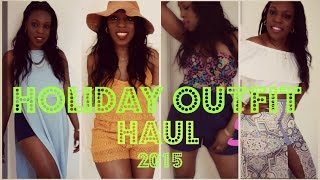 preview picture of video 'Holiday Outfit Haul 2015'