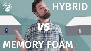 Memory Foam vs. Hybrid Mattress - Which Is Best?