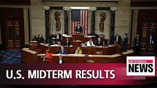 U.S. Congress divided: Democrats take control of House, Republicans retain Senate