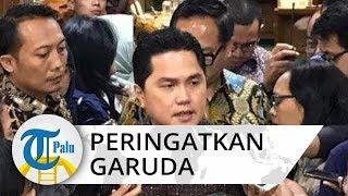Saat Erick Thohir Peringatkan Garuda Indonesia soal Penyelundupan Harley Davidson