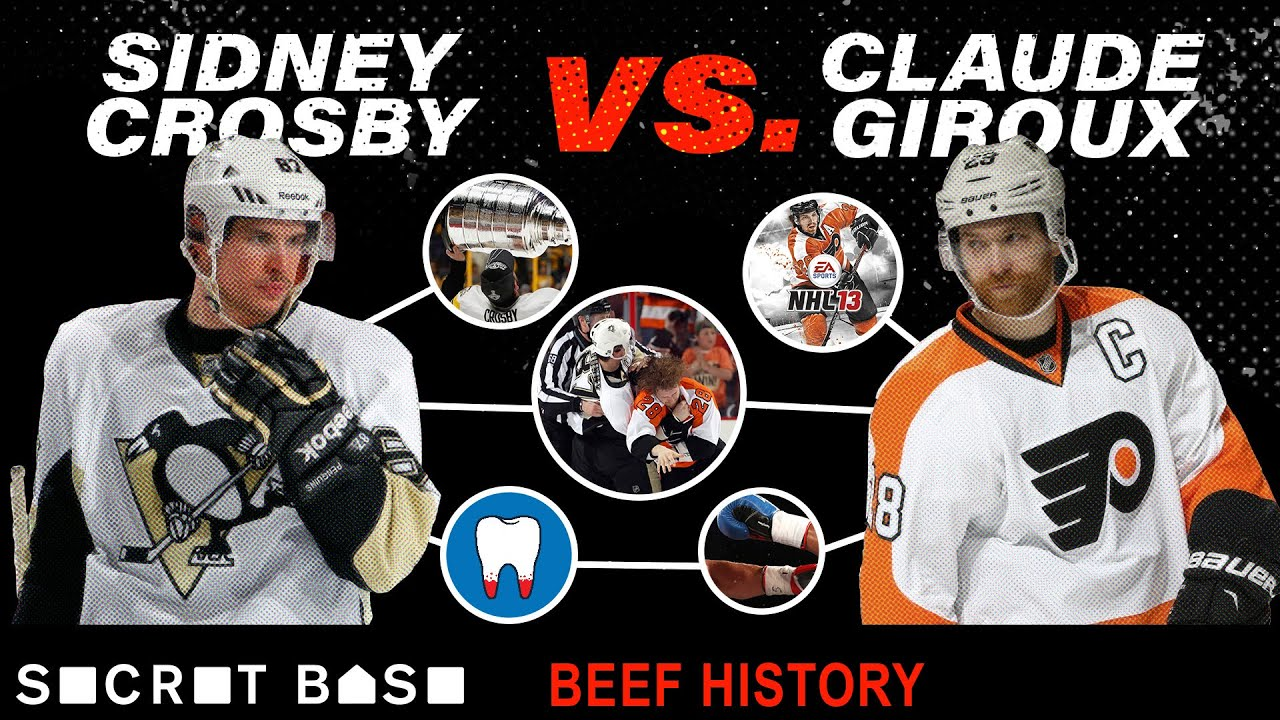 Sidney Crosby and Claude Giroux's beef was painful, brief, and a showcase of hockey's best rivalry thumbnail