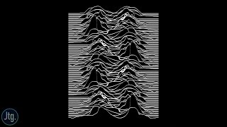 "Recreating Joy Division's Iconic ""Unknown Pleasures"" Album Cover Art In Photoshop Tutorial"