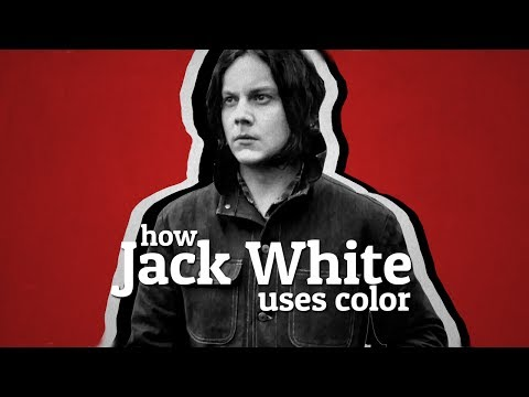 Jak Jack White využívá barvy