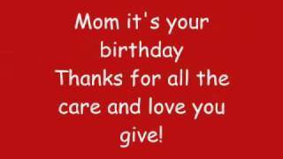Phineas And Ferb - Mom, It's Your Birthday Lyrics (HQ)