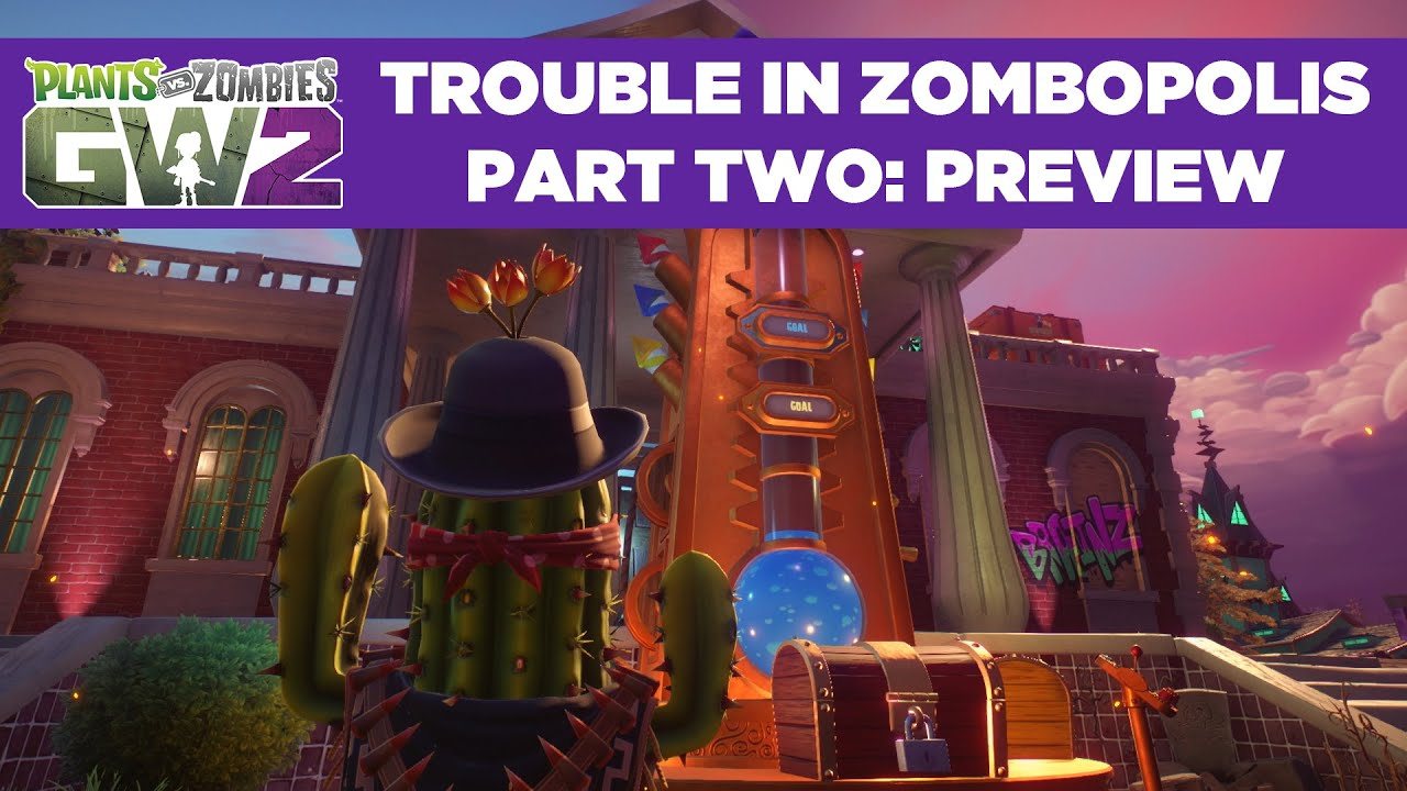 Plants Vs Zombies Garden Warfare 2 Balhe Zombopolisban Part 2