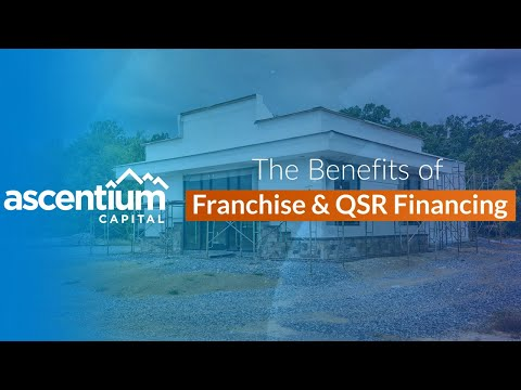 The benefits of financing for your Franchise equipment, mandates and more! Video