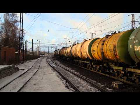 Russian Railways Freight Train