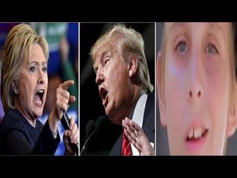 HILLARY VS TRUMP!! SONG by MISHA (FOR KIDS) EAR RAPE VERSION
