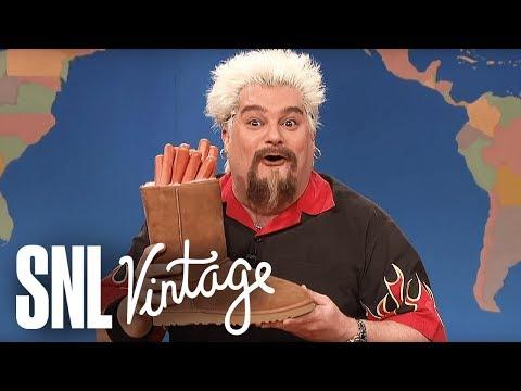 Weekend Update: Guy Fieri on Super Bowl Snacks - SNL