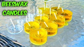How to Make Candles - Beeswax Candles