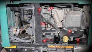 Onan RV Generator runs but no electric - watch this fix