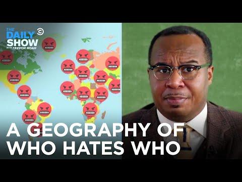 Hodina zeměpisu: Kdo nenávidí koho - The Daily Show with Trevor Noah