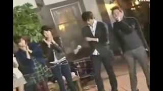 Junsu and Junho - I Love You Oh Thank You live