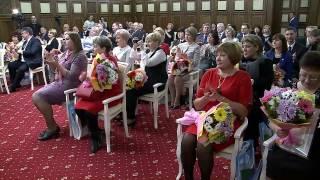 Губернатор провел торжественный прием в честь Международного женского дня