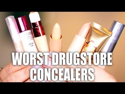 WORST DRUGSTORE CONCEALERS