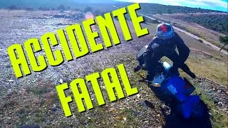 ACCIDENTE VESPA 125 OFFROAD haciendo MOTOCROSS