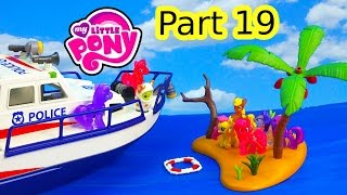 Shopkins MLP Airplane Airport Island Rescue My Little Pony 19 Twilight Pinkie Pie Series Video