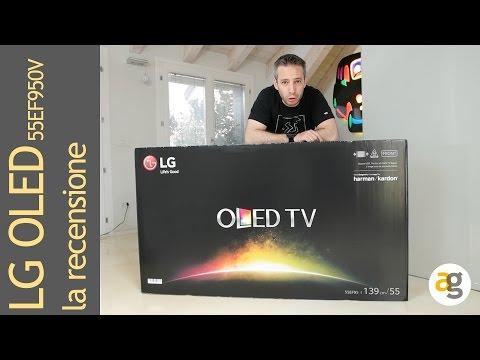 LG TV OLED 55EF950V la recensione
