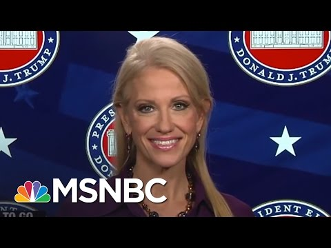 Kellyanne Conway On Donald Trump's Feud With John Lewis | For The Record | MSNBC
